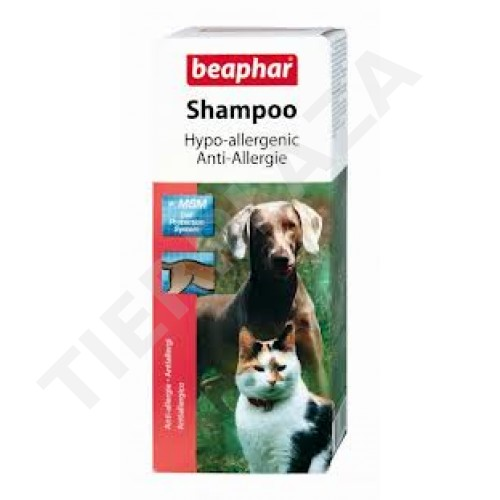 beaphar anti allergie shampoo hypo allergenic tierplaza. Black Bedroom Furniture Sets. Home Design Ideas